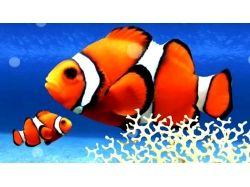 Мультик подводный мир