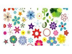 Векторные картинки цветы