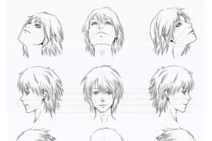 Аниме рисунки голова