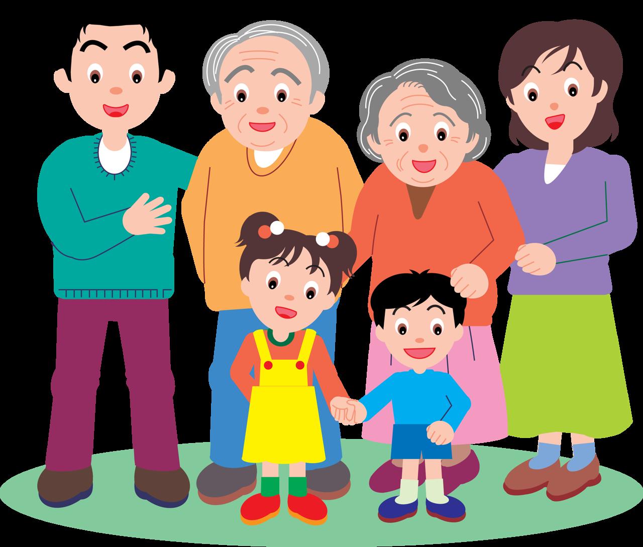 Картинки о родителях и детях нарисованные