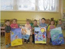 Всенародный конкурс рисунков подводный мир