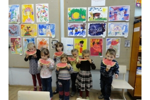 Картинки дети работают в природе