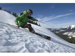 Фото зима и лыжи
