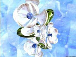 Нарисованные цветы картинки