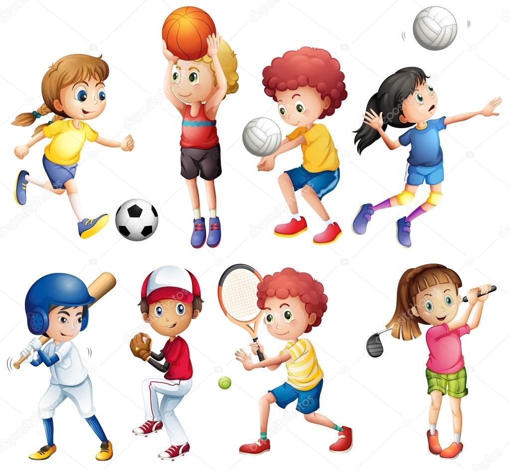 Картинки по запросу скачать картинки дети и спорт