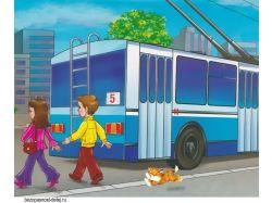 Картинка для детей автобус