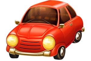 Красная машина картинки для детей