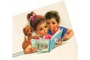 Картинки дети читают