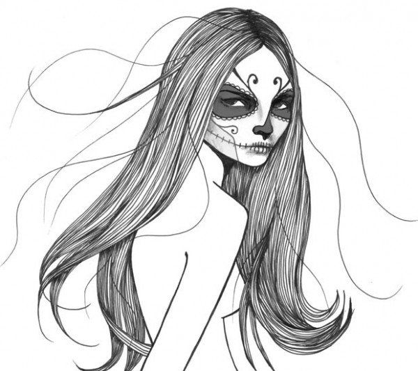 Красивые нарисованные картинки голых девушек
