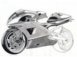 Рисунки мотоциклов