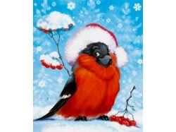 Картинки снегирь