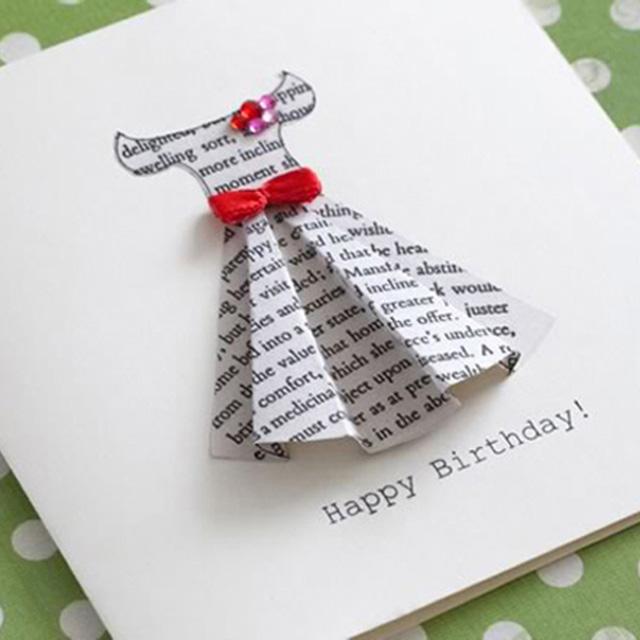 Прикольная открытка с днем рождения подруге своими руками, пальчиковые краски