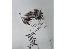 Картинки нарисованные ручкой