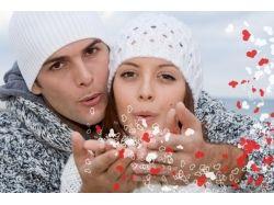 Романтические фото мужчины и женщины