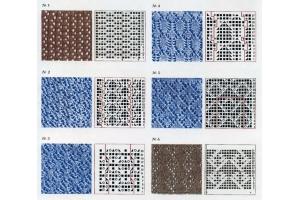 Вязание картинки и схемы спицами