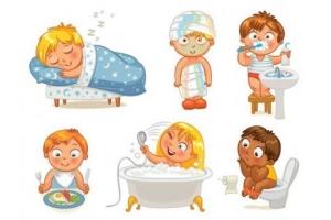 Картинки гигиена для детей