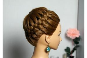 Плетение фото на длинные волосы