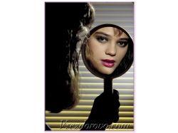 Фото девушек в зеркале