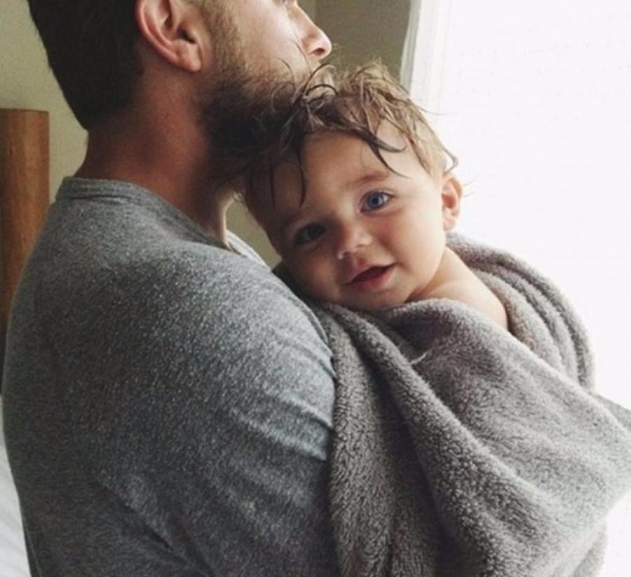 Красивые картинки отца и ребенок