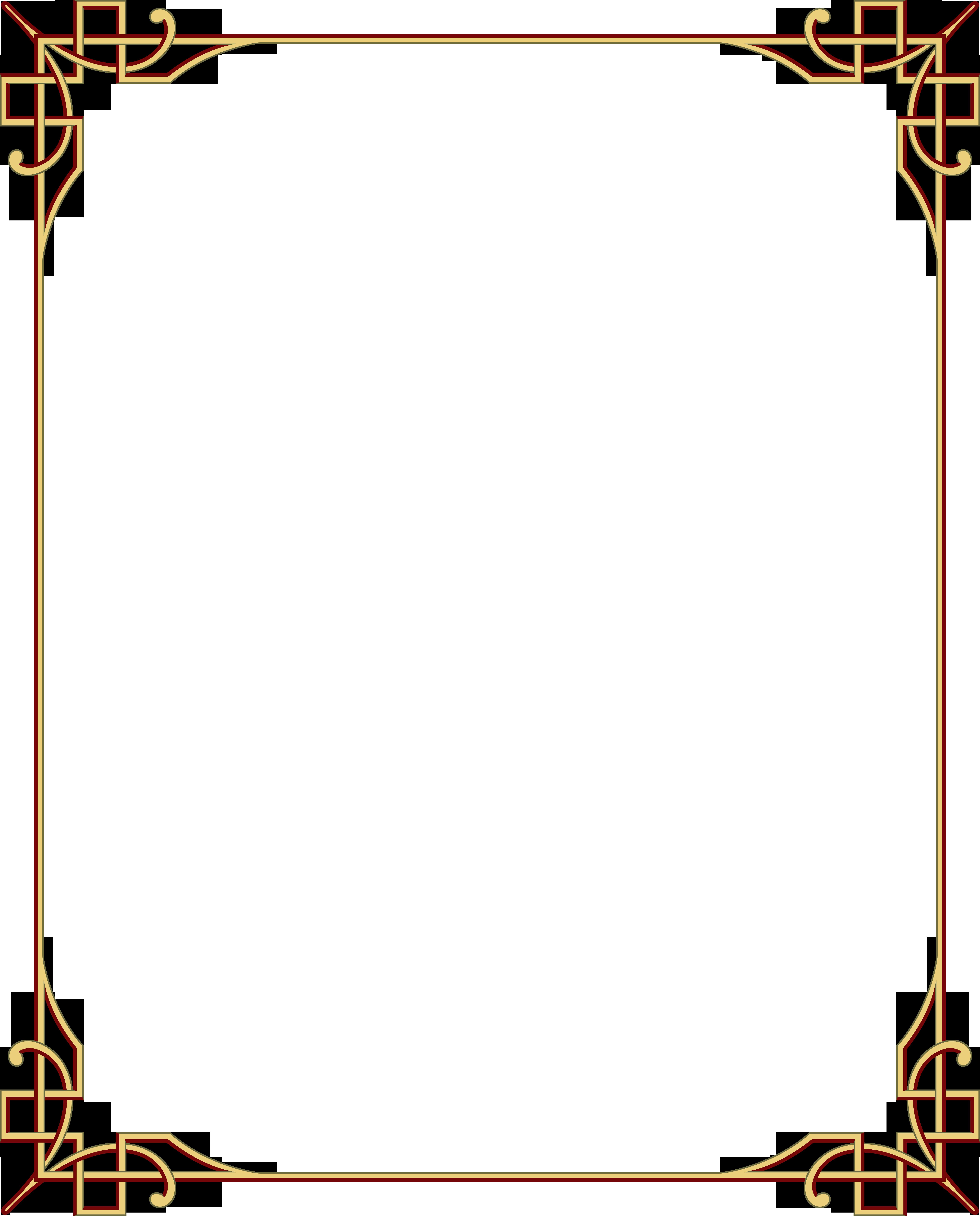 Простые рамки для открытки, своими руками