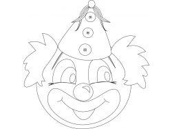 Картинка клоуна для детей