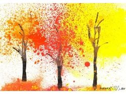 Поделки и рисунки на тему осень