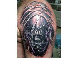 Прикольные татуировки фото