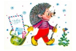 Новогодние картинки для детей нарисованные карандашом