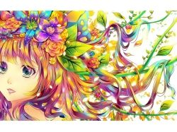 Картинки лето аниме 7