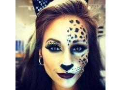 Макияж кошки на хэллоуин фото 2