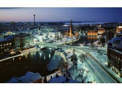 Картинки зима ночью 7