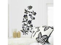 Стикеры на фото цветы