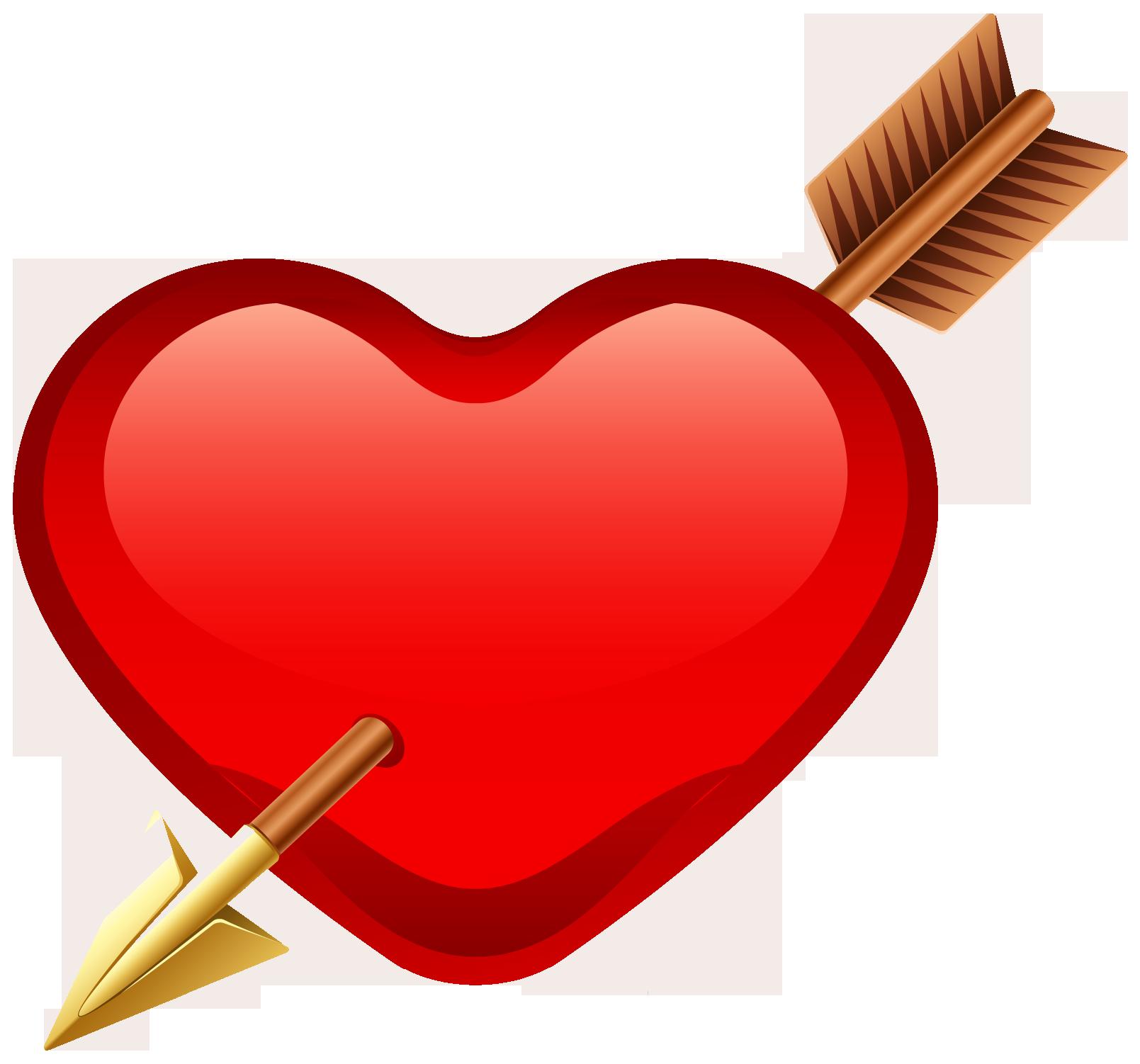 Картинки сердечки со стрелами