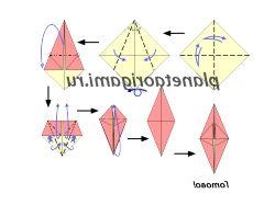 Оригами фото цветы как делать