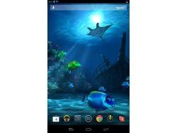Живые обои подводный мир android