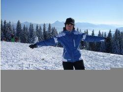 Фото зима, горные лыжи