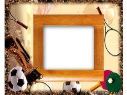 Рамка спорт фото