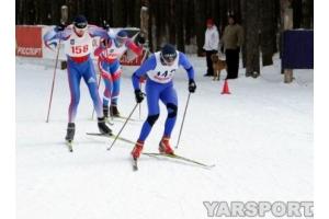 Лыжные гонки фото