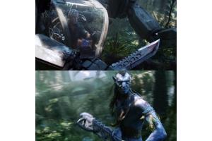 Аватар кадры из фильма