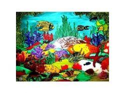 Конкурс на тему подводный мир