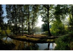 Картинки лето, рассвет над водой 2
