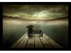 Фото вода в тумане 3