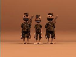 Широкоформатные картинки об армии