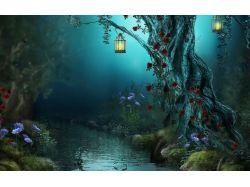 Фэнтези картинки лес 2