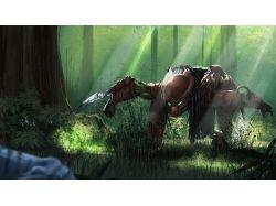 Фэнтези картинки лес 6