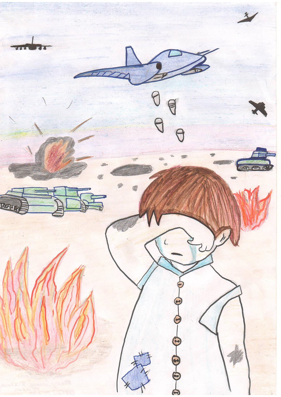 Рисунки на тему война глазами детей » Скачать лучшие ...