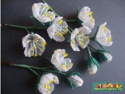 Фото цветы из бисера