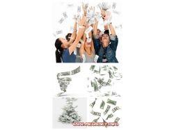 Деньги фотоклипарт 2