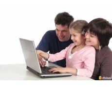 Картинки компьютер и дети