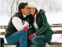 Влюбленная пара фото зима 7